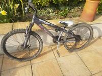 Boys mountain bike 26 inch wheels