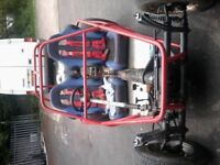 VW beetle base doom buggy, 1.6ltr engine, has many spare parts including spare engine.