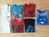 Bundle of Boy's Tops aged 5 - 6 Years