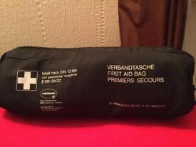 Never Used Original Mercedes Benz first aid bag