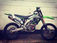 Kawasaki kxf 450 needs running in!!!!