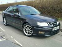 2007 SAAB 9-3 1.9 TID VECTOR SPORT 150BHP*LEATHER*SAT-NAV*SUNROOF*EL-PACK*P/SENS*CHEAP TAX+INS*#AERO