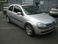 2000 VAUXHALL CORSA 1.4 16v sri - 114000k 2 MOUTHS MOT - TAX