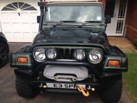 Jeep Wrangler TJ 4.0 Auto 1998