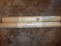 Laura Ashley Isodore pale forest wallpaper x 2