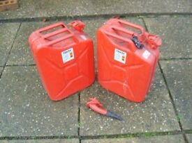 fuel cans