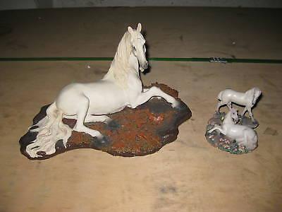 Figur 2er Set Pferd Figuren Pferde