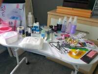 Variety of acrylic/manicure/nail art equipment