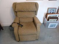 AJ Way Rise Recliner Armchair.