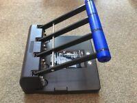 Heavy Duty 4-Hole Punch - Rapesco 4400, 150-Sheet Capacity - Great Condition