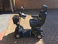 BARGAIN! One Rehab Komfi Rider KR 8000 8ph Mid Size Mobility Scooter in Black