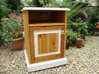 Bedside cabinet with Locking Cupboard
