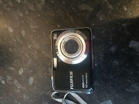 Black fujifilm digital camera excellent condition