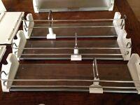 Liebherr Intergrated Fridge/Freezer ICN 3056 Three Storage racks - Immaculate condition
