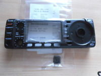 NEW .... Icom IC-703 HF radio transceiver front replacement panel and clip