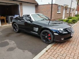 Chrysler Crossfire beautiful example, convertible, 3.2, manual, with some amazing extras