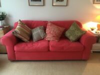 Sofas-matching 3 seater and 2 seater