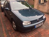 2003 VW GOLF 1.9 TDI, DIESEL, LOW MILEAGE, AUTOMATIC !!Excellent Condition!!