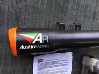 KTM 1290 SUPERDUKE AUSTIN RACING ST RANGE CERAMIC TITANIUM GPI HIGH SLUNG DECAT SYSTEM
