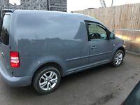 Pure grey 2011 vw caddy van No Vat !!