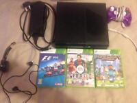 Black Xbox 360 with extras!!