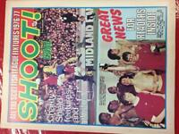 Early 70s Shoot football magazine