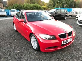 FULLY LOADED—BMW 320d —FULL LATHER__I DRIVE—STUNNING
