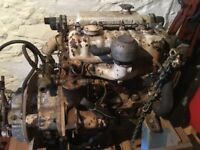 PERKINS 4107 MARINE DIESEL ENGINE