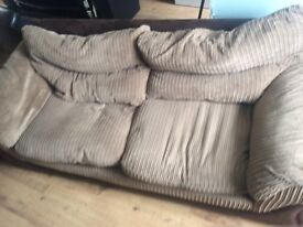 Sofa no longer needed . Need gone hence price . Buyer collects please