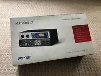 RME Madiface XT, USB3, Audio Interface, 2016 Black with official RME rack ears (£50)
