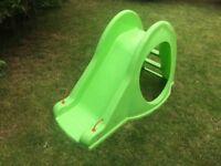 Children's outdoor plastic slide