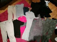 Selection of size 6/8 clothing
