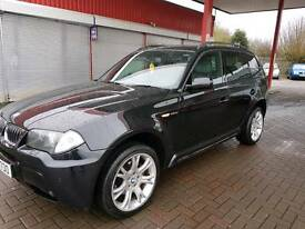 2006 BMW X3 M SPORT DIESEL **3 LITRE**