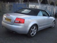 AUDI A4 1.8 T SPORT CONVERTIBLE CABRIOLET •••• £1650 ONLY •••• 3 DOOR COUPE