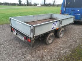 Ifor Williams LM105G 10' x 5' dropside braked twin axle trailer