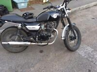 Lexmoto Valiant 125 black