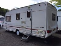 4 BERTH STERLING ECCLES MOONSTONE 2000, WITH SIDE DINETTE, LOVELY CONDITION, NO DAMP !!!