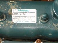 KUBOTA D722 ENGINE MINI DIGGER MOWER