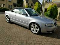 Audi A4 1.8 T S Line Automatic Convertible Full Service History