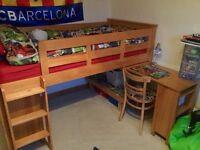 Next bed, pull out desk chest and cupabord REDUCED TO £200 for all collect glenrothes