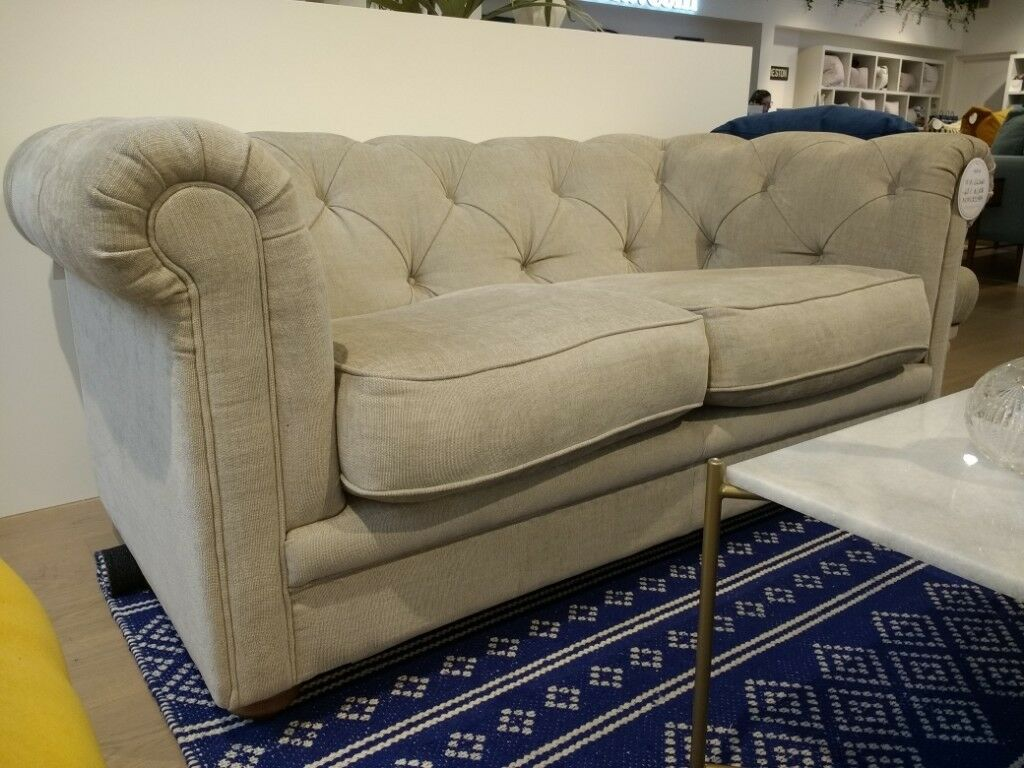 Ex Display Two Seat Chesterfield Sofa Patrick By Com In