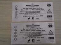 2 GOODWOOD FESTIVAL OF SPEED TICKETS