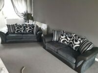 """🎀Elegant Style New🎀SHANONN FABRIC 3+2 Seater AND COERNER Sofa""""🎀 Available in Stock!🎀"""