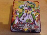 500 Yu-Gi-Oh cards in tin