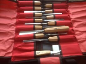 Top Of The Range Stubal Wood Carving/Sculpture Chisels Set Of 14 Tools Never Been Used