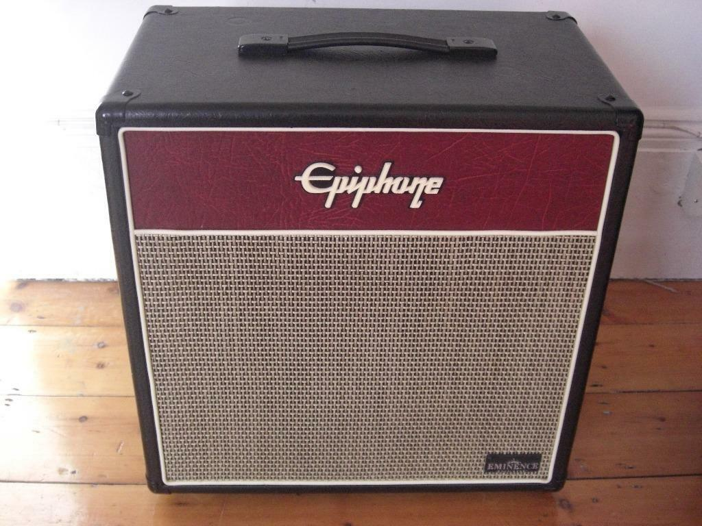 Epiphone Valve Junior cabinet 1X12 with Eminence Lady Luck | in ...