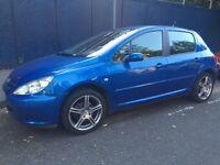 Peugeot 307 Rapier 1.6 5dr Blue