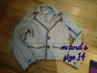 Summer jacket size 14