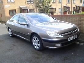Peugeot 607 Executive HDI in excellent condition