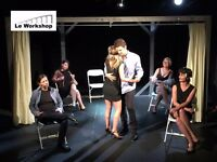 Drama Class in French - Cours de theatre en francais
